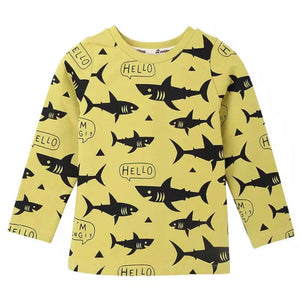 Jaws Shark Long Sleeve Tee