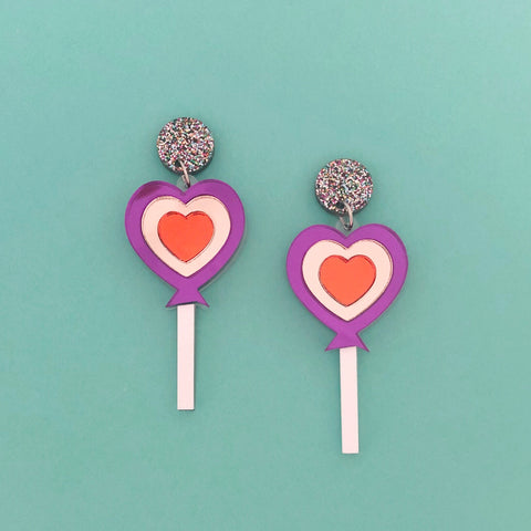 'Love Lollipop' Dangle (choose colour)