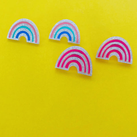 'Rainbow' Studs (choose colour)