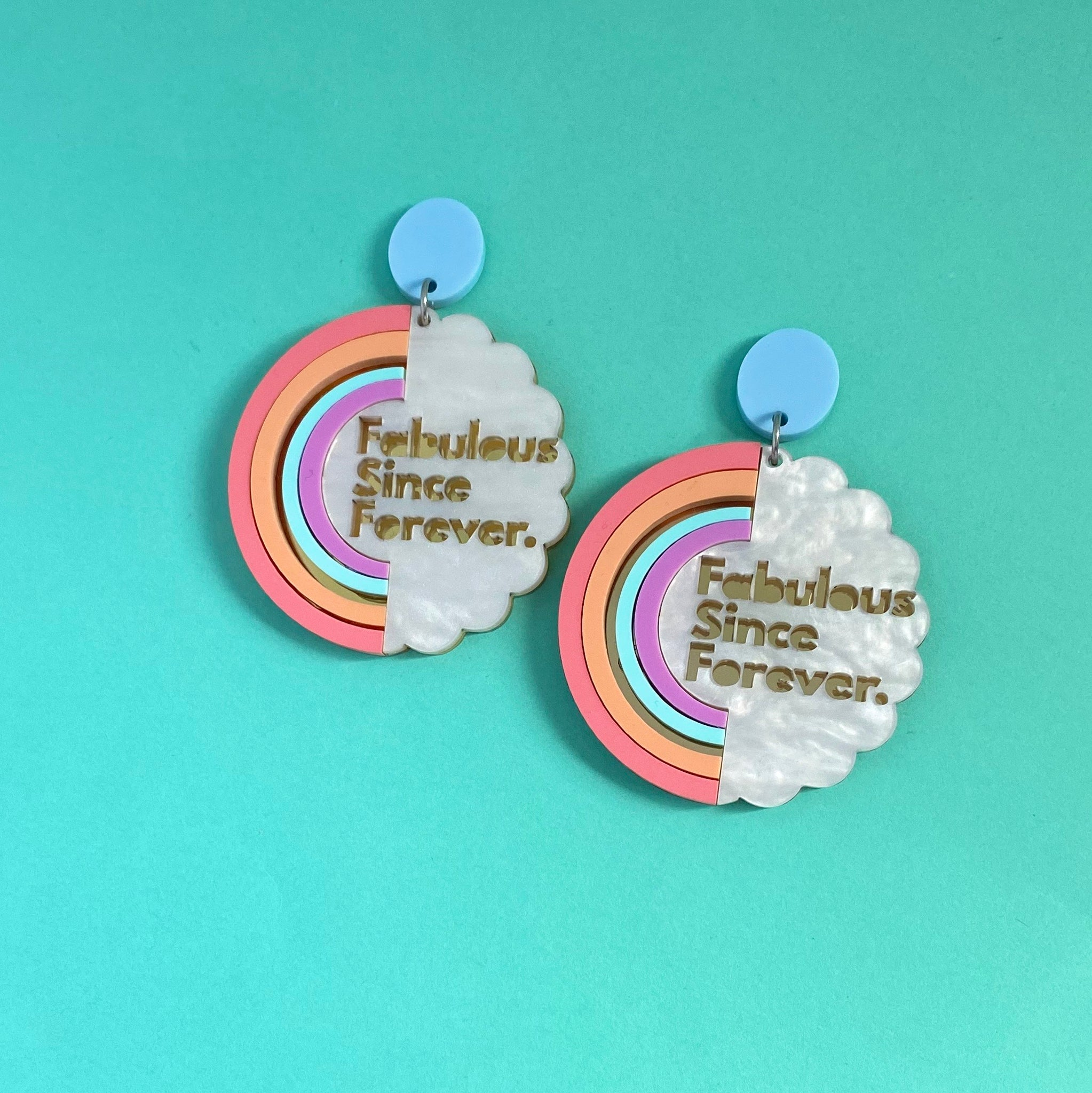 'Fabulous Since Forever' Dangles