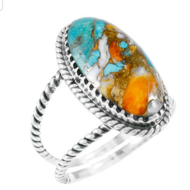 Ring - Celebrity Turquoise sterling silver