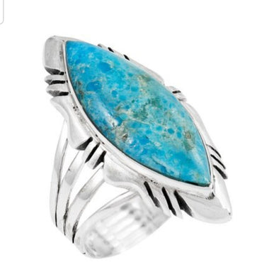 Ring - Sky Turquoise sterling silver