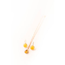 Necklace - Citrine Rose Gold