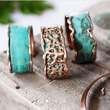 Copper Adjustable Bangle   - Aqua Modern On-Trend
