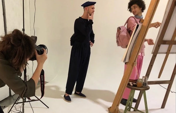 Behind The Scenes AW18 - The Art Class