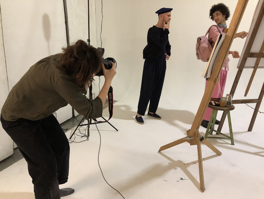 Ally Capellino AW18 Campaign Behind the Scenes