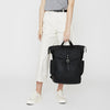 Fin Waxed Cotton Rucksack in Brick-TALL RUCKSACK-Ally Capellino-Ally Capellino