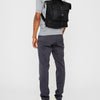 Frances Waxed Cotton Rucksack in Black-SML RUCKSACK-Ally Capellino-Ally Capellino