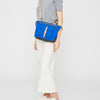 Francesca Waxed Cotton Crossbody Bag in cobalt-CROSS BODY BAG-Ally Capellino-Ally Capellino