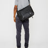 Jeremy Waxed Cotton Satchel in Black and Olive-MEDIUM SATCHEL-Ally Capellino-Ally Capellino-Green-Olive-Waxed_Cotton