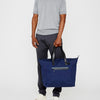 Saarf Travel And Cycle Tote in Navy