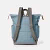 Fin Waxed Cotton Rucksack in Blue
