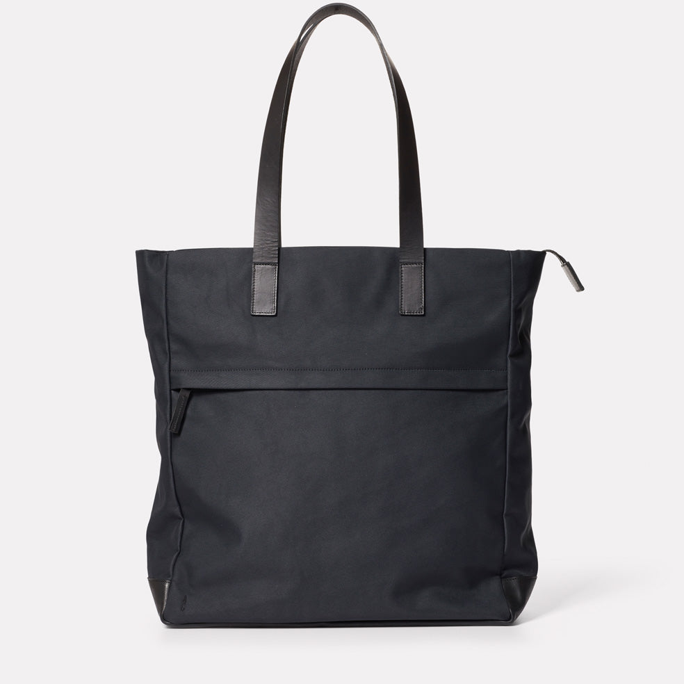 Brad Granular City Tote in Midnight