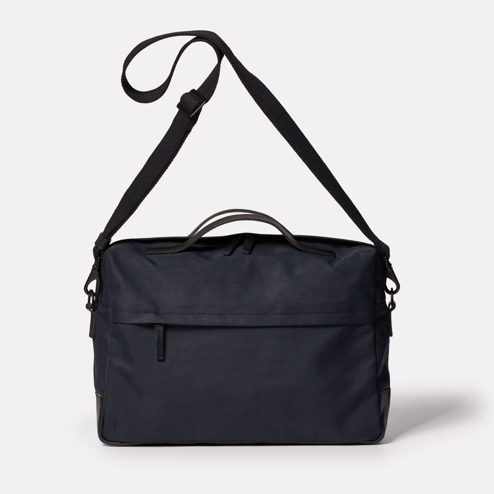 Brian Granular City Briefcase in Midnight