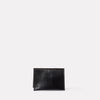 Fletcher Leather Card Holder in Black-CARD HOLDER-Ally Capellino-Leather-Small Leather Goods-leather accessories-black-black leather