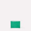 Fletcher Leather Card Holder in Green-CARD HOLDER-Ally Capellino-Small Leather Goods-Green-Leather
