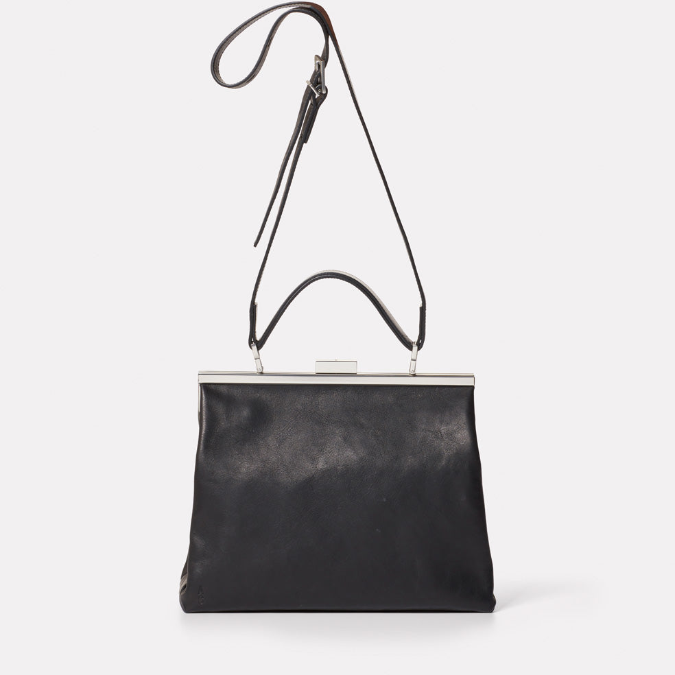 Frida Soft Frame Bag in Black