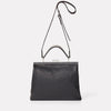 Frida Soft Frame Bag in Black-LARGE FRAME-Ally Capellino-Ally Capellino-Black-Black Leather Bag