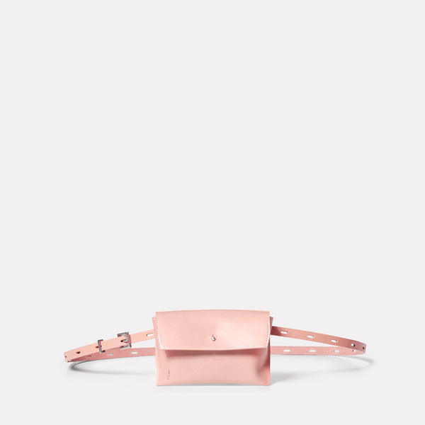 Hild Purse on a Belt in Pink Front