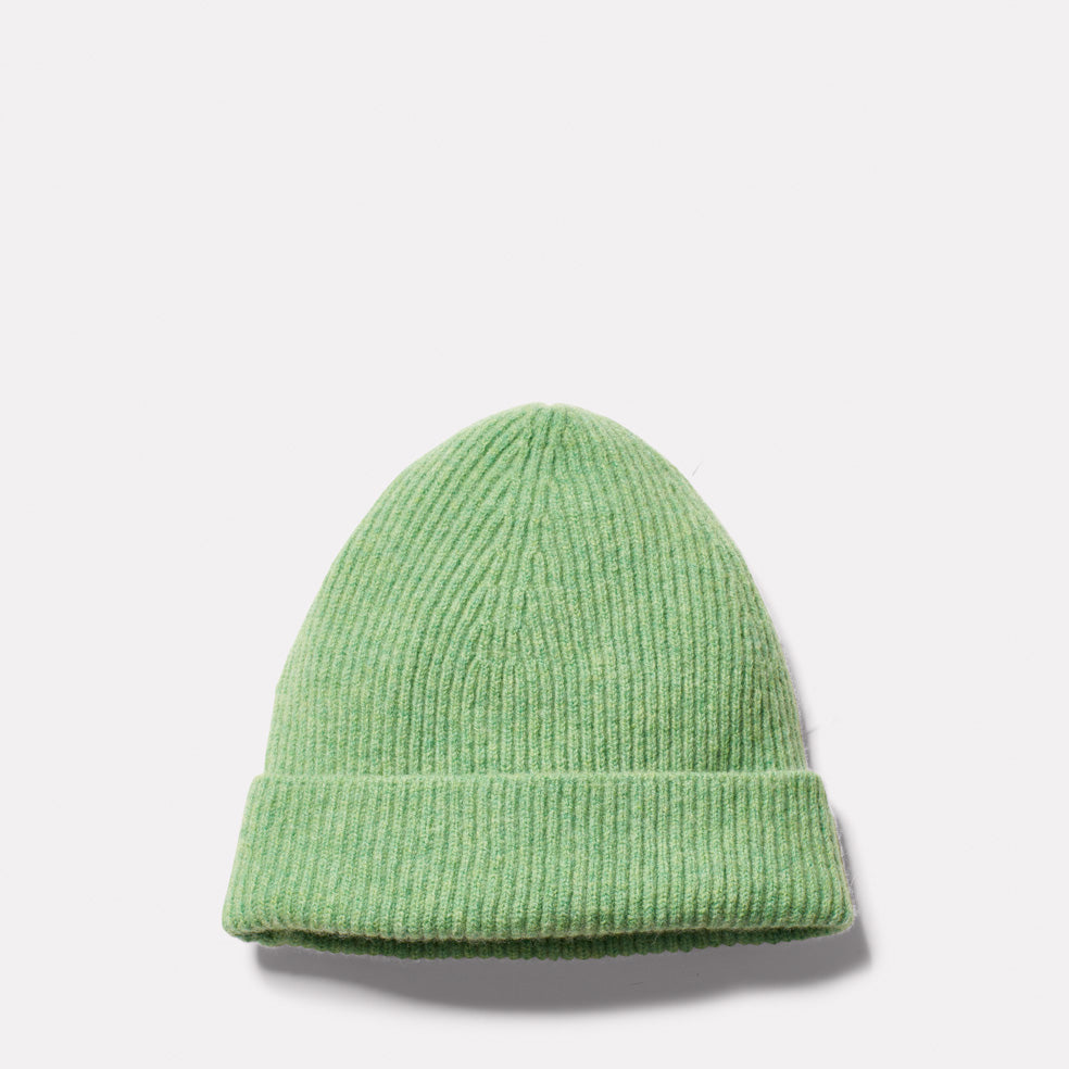 Lambswool Hat in Green