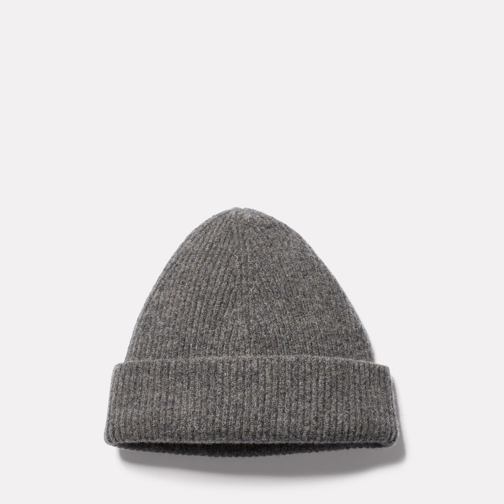 Lambswool Hat in Grey