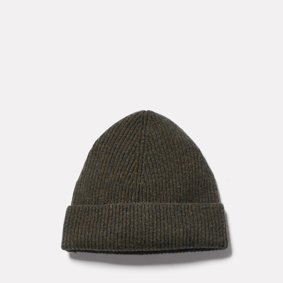 Lambswool Hat in Olive