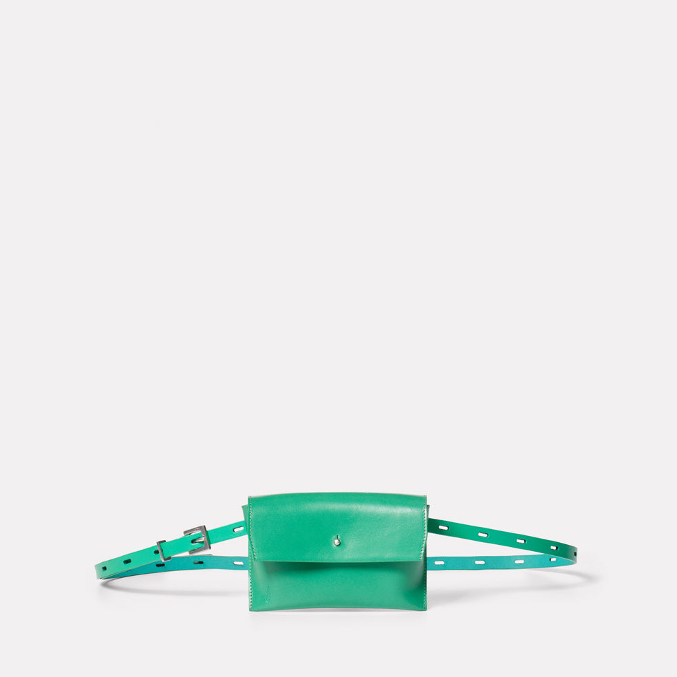 Hild Purse on a Belt in Green