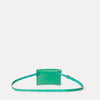 Hild Purse on a Belt in Green-PURSE ON BELT-Ally Capellino-Small Leather Goods-Green-Leather