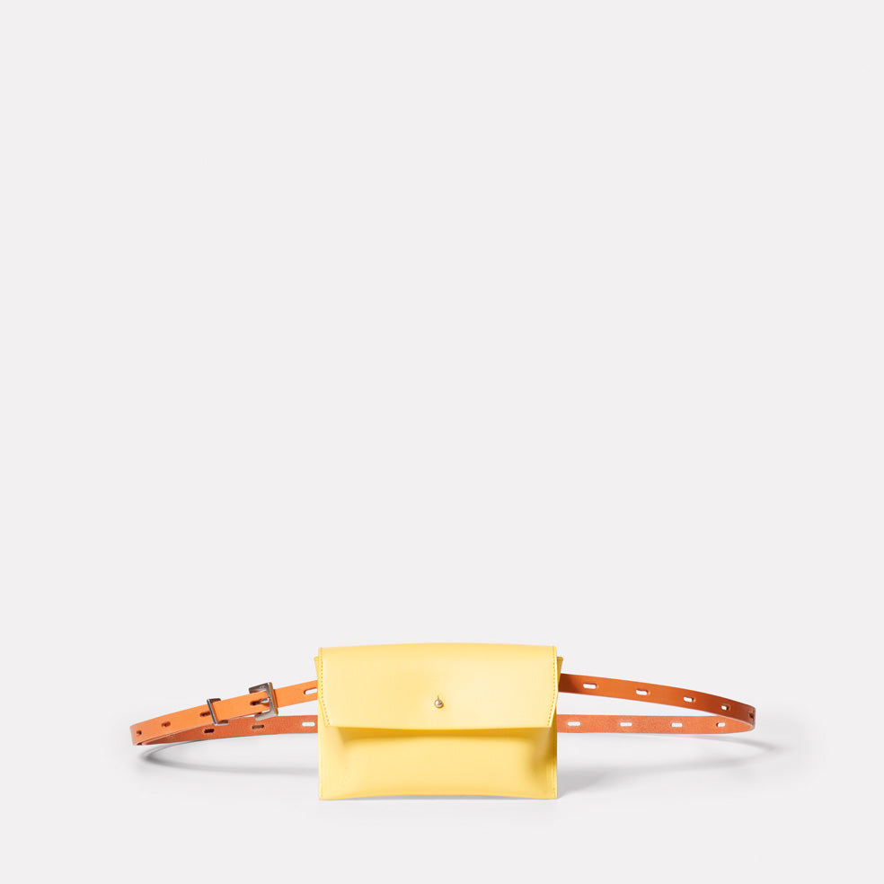 Hild Purse on a Belt in Yellow