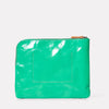 Hocker Large Leather Purse in Green-LARGE POUCH-Ally Capellino-Small Leather Goods-Green-Leather