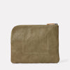 Hocker Large Leather Purse in Moss-LARGE POUCH-Ally Capellino-Ally Capellino