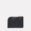 Hocker Medium Leather Purse in Black-MEDIUM POUCH-Ally Capellino-AW19-smallleathergoods-small leather goods-black-black leather