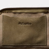 Hocker Medium Leather Purse in Moss-MEDIUM POUCH-Ally Capellino-Ally Capellino