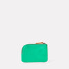 Hocker Small Leather Purse in Green-SMALL POUCH-Ally Capellino-Small Leather Goods-Green-Leather
