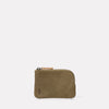Hocker Small Leather Purse in Moss-SMALL POUCH-Ally Capellino-Ally Capellino