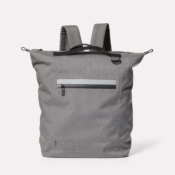 Hoy Travel and Cycle Rucksack in Grey-RUCKSACK-Ally Capellino-Grey-Travel Cycle-Cordura-Nylon-Travel Bag