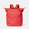 Hoy Travel and Cycle Rucksack in Red-RUCKSACK-Ally Capellino-Red-Travel Cycle-Cordura-Nylon-Travel Bag