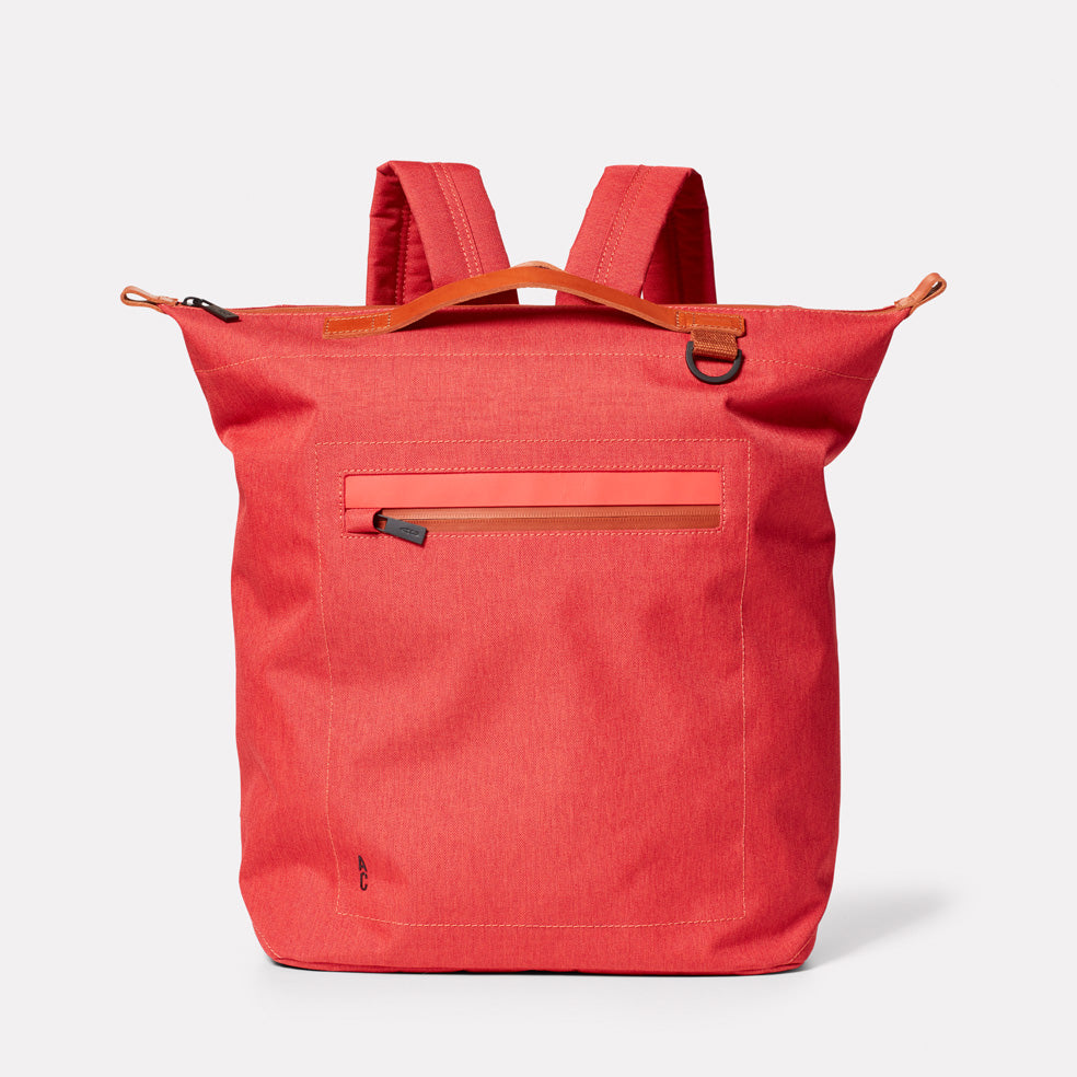 Hoy Travel and Cycle Rucksack in Red