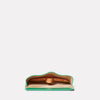 Kit Leather Glasses Case in Green-GLASSES CASE-Ally Capellino-Ally Capellino