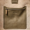 Lloyd Small Calvert Leather Bucket Bag in Moss-SMALL BUCKET-Ally Capellino-AW19-Leather-Moss-Green-Khaki