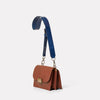 Lockie Boundary Leather Crossbody Lock Bag in Oxblood-CONCERTINA X BODY-Ally Capellino-oxblood-burgundy-leather-crossbody
