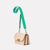 Lockie Boundary Leather Crossbody Lock Bag in Taupe-CONCERTINA X BODY-Ally Capellino-Taupe-Beige-Nude-Leather-Crossbody