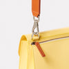 Lockie Boundary Leather Crossbody Lock Bag in Yellow-CONCERTINA X BODY-Ally Capellino-Yellow-Lemon-Leather-Crossbody