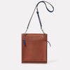 Lori Boundary Leather Crossbody Lock Bag in Oxblood-PORTRAIT BAG-Ally Capellino-oxblood-burgundy-leather-crossbody