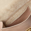 Lori Boundary Leather Crossbody Lock Bag in Taupe-PORTRAIT BAG-Ally Capellino-Taupe-Beige-Nude-Leather-Crossbody