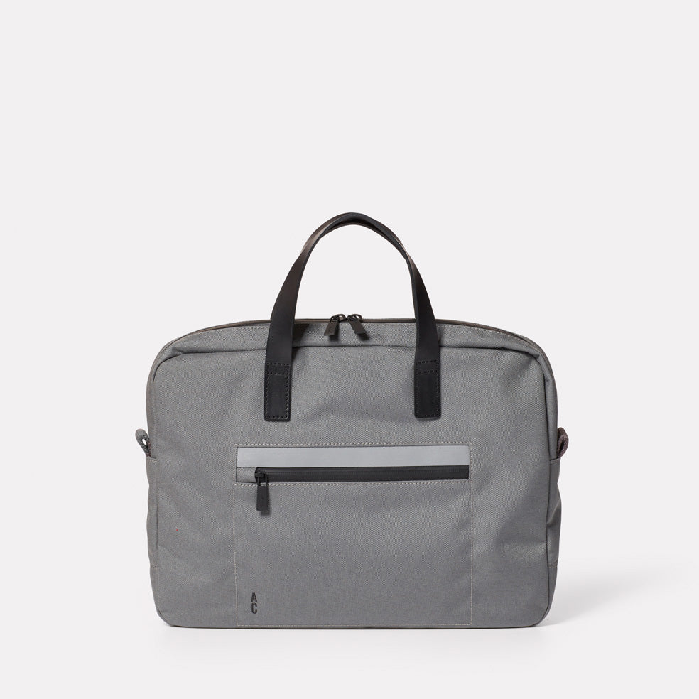 Mansell Travel and Cycle Briefcase in Grey