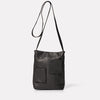 Mimi Camlet Leather Crossbody Bag in Black-MINI PORTRAIT-Ally Capellino-Ally Capellino-Black-Black Leather Bag