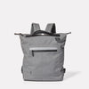 Mini Hoy Travel and Cycle Rucksack in Grey-SMALL RUCKSACK-Ally Capellino-Grey-Travel Cycle-Cordura-Nylon-Travel Bag