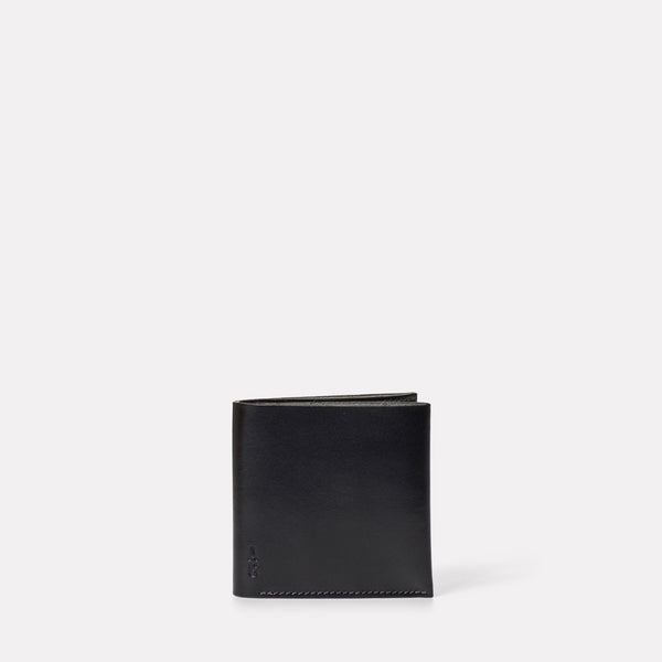 Oliver Leather Wallet in Black-MENS WALLET-Ally Capellino-Leather-Small Leather Goods-leather accessories-black-black leather