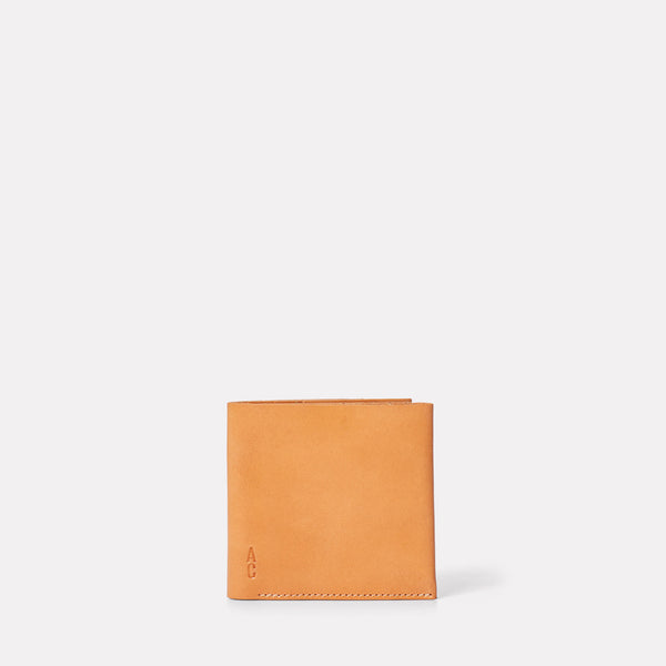 Oliver Leather Wallet in Tan-MENS WALLET-Ally Capellino-Leather-smallleathergoods-Small Leather Goods- Tan-Tan Leather-AW19